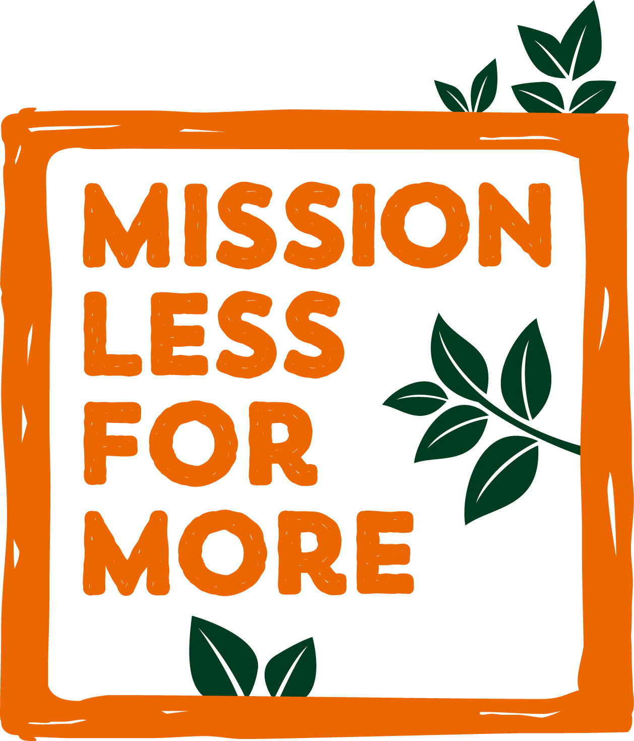 Mission Less for More Logo