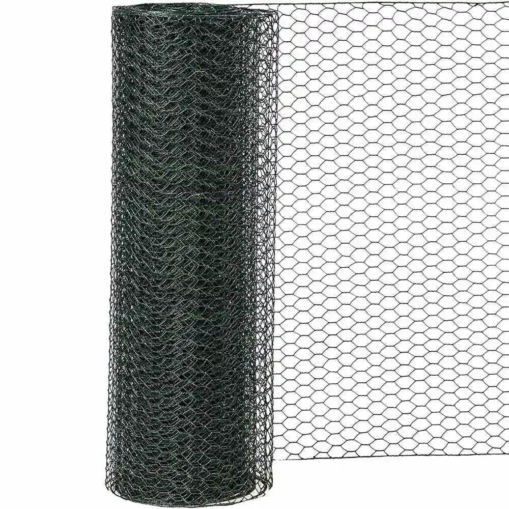 6eck-Geflecht PVC 25/750