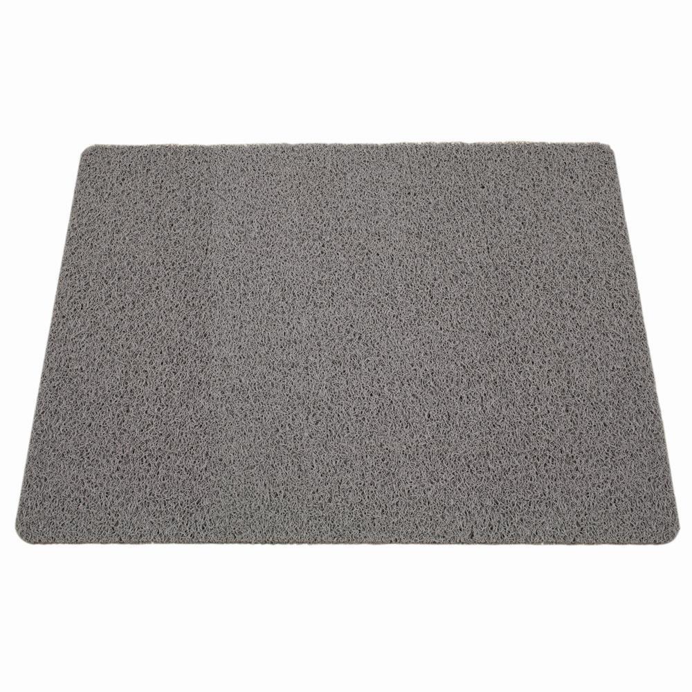 Außenmatte Scribble 60 x 80 cm grau