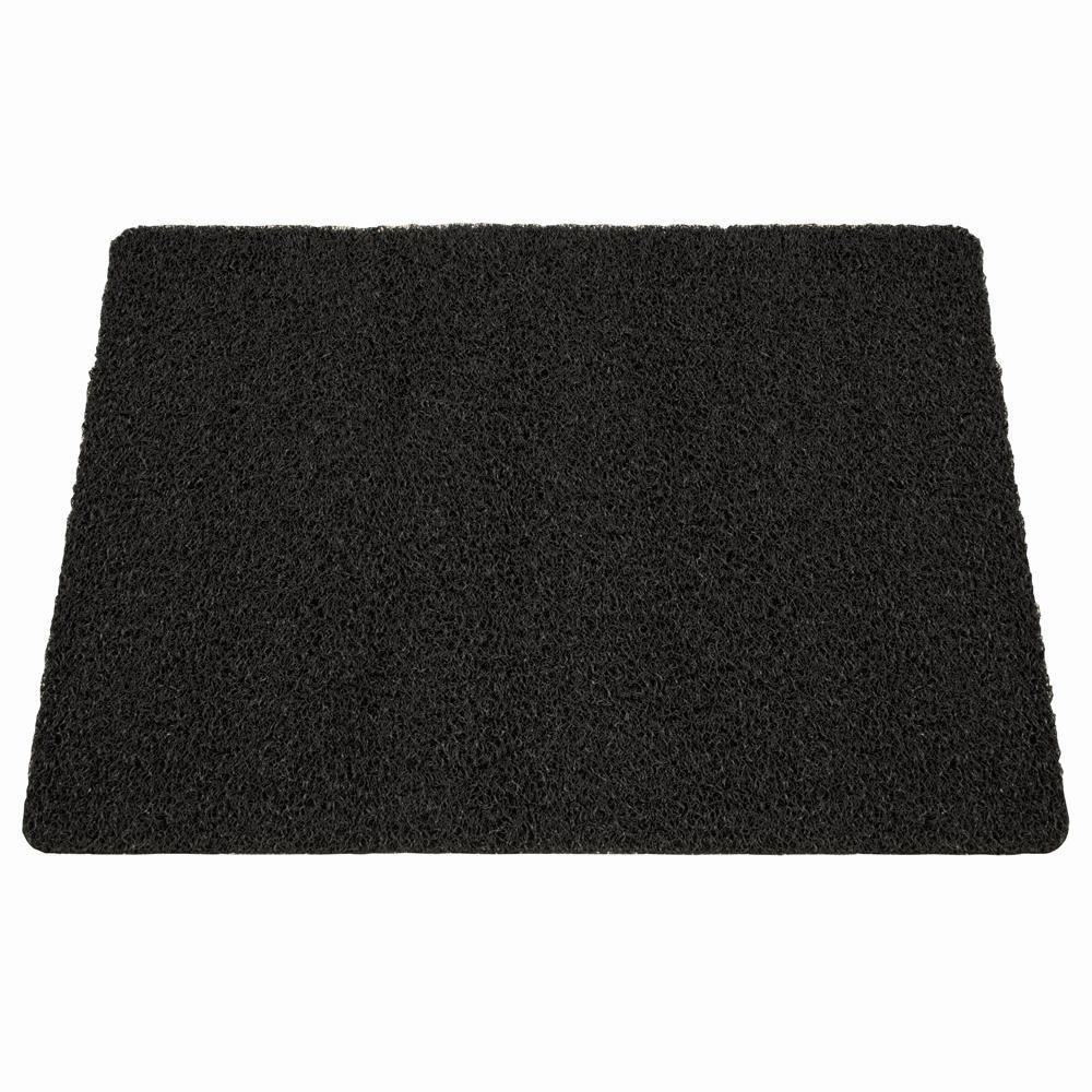 Außenmatte Scribble 60 x 80 cm schwarz