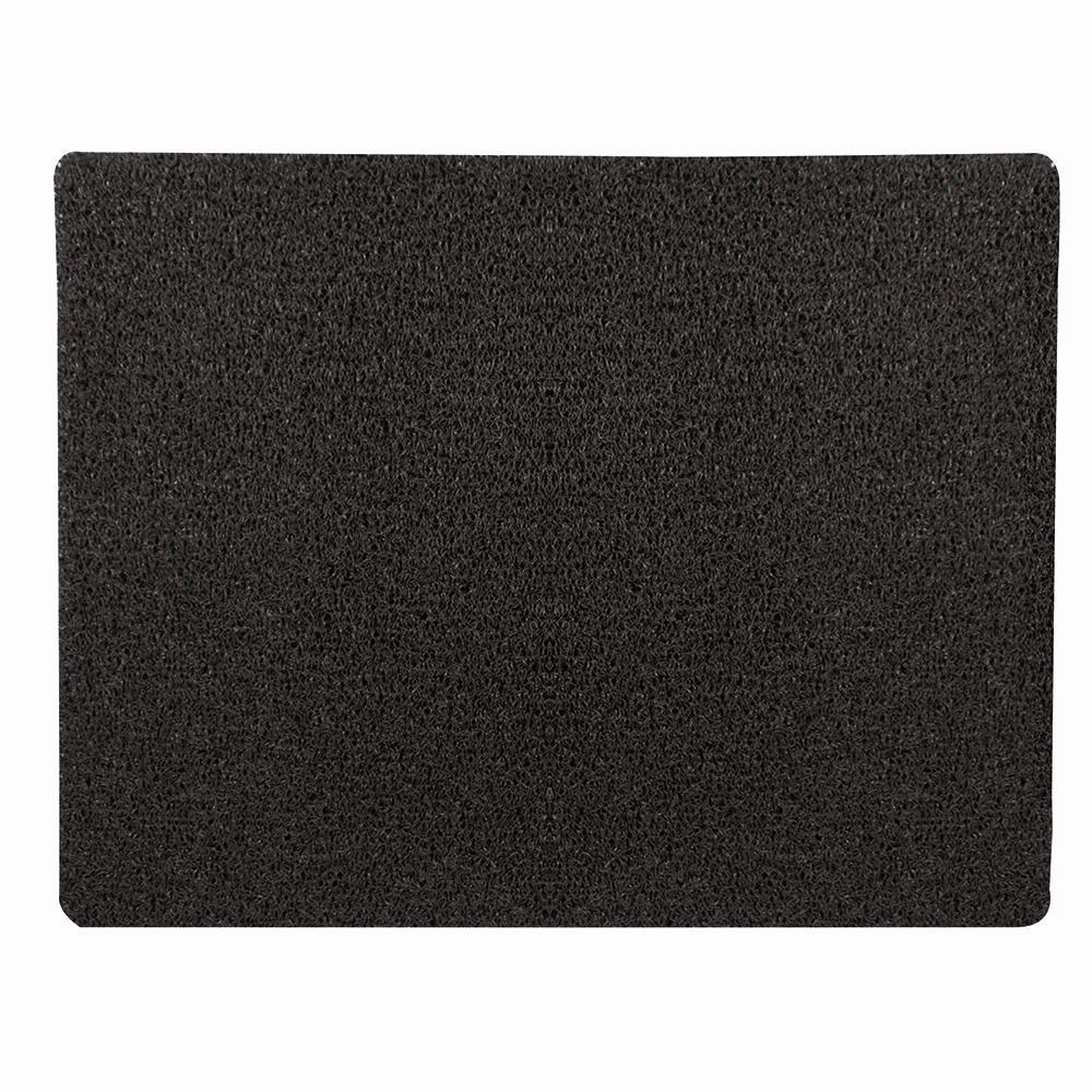Außenmatte Scribble 60 x 80 cm braun