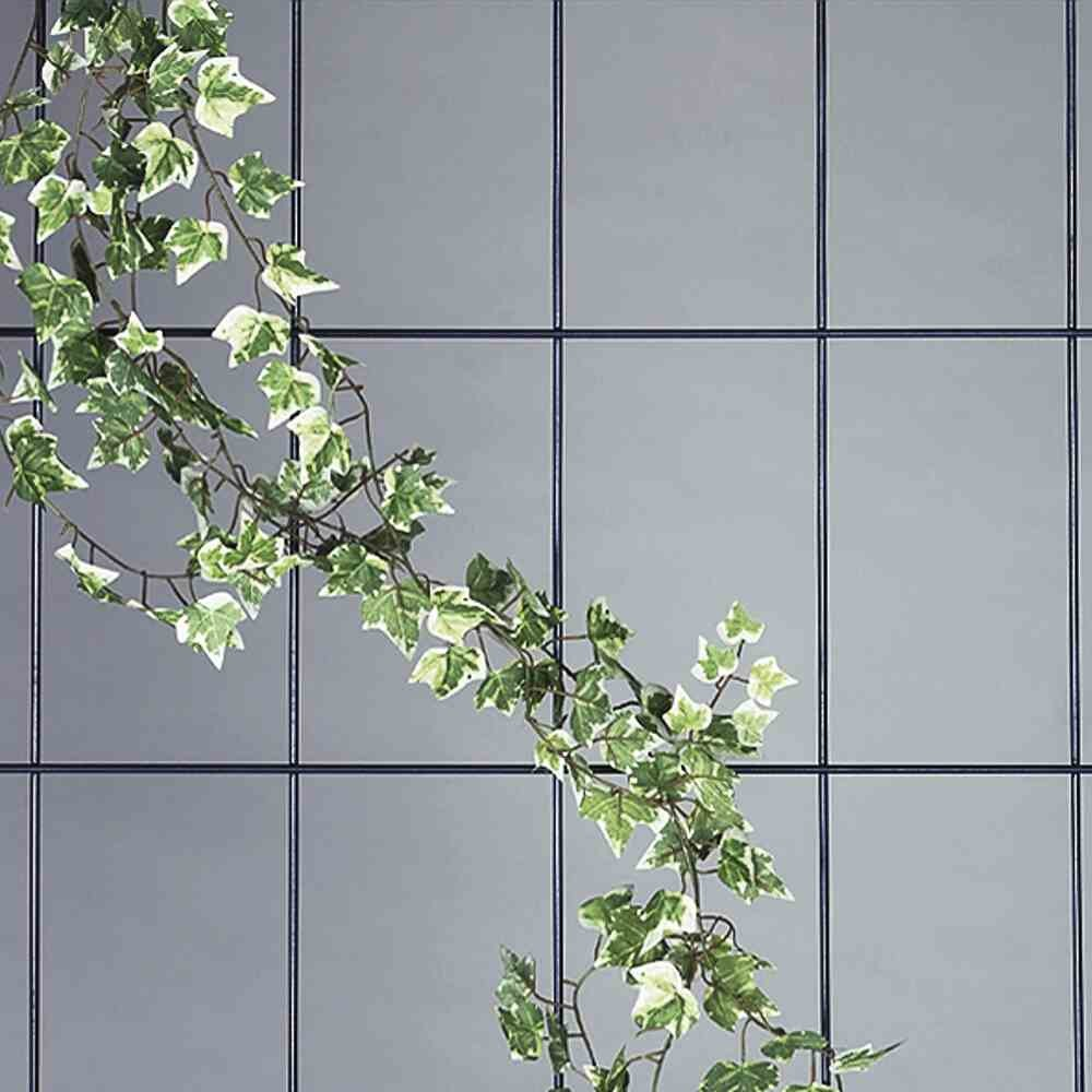 Wandspalier 5-strebig weiß, Maße: 150x75cm